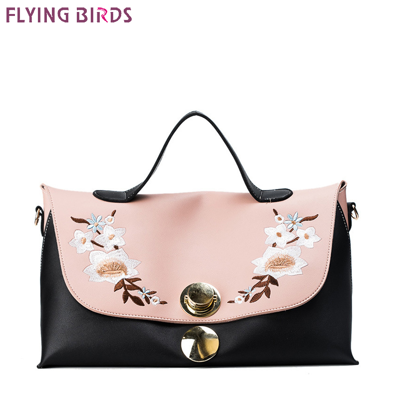 FLYING BIRDS Tote Famous Frand Women Leather Handbags Bolsas High Quality Women's Messenger Bags Tote Pouch Handbag Fashion new splendid 2016 new designer famous brand women leather handbags bags high quality women s messenger bags bolsas pouch bag tote