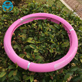 Cute Pink Steering Wheel Cover Faux Leather 38cm Car Accessories For Girls Women Car-styling