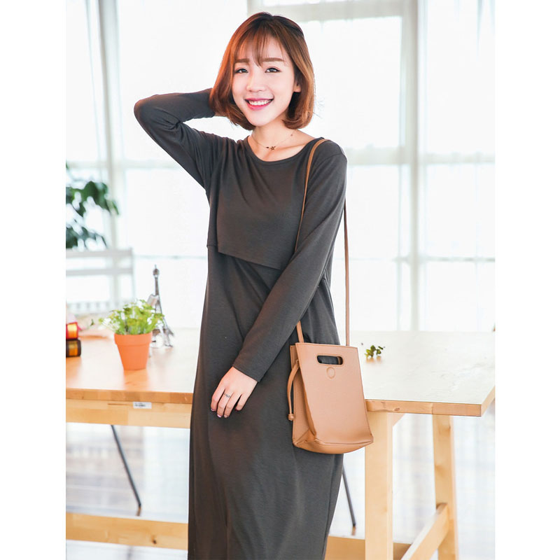 Maternity Dresses Pregnancy Clothes for Pregnant Women Nursing Clothes Maternity Dresses Breastfeeding Clothing Nursing