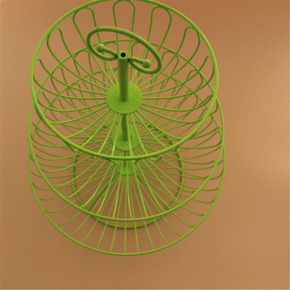 Attractive Wire Basket 3 Tier Metal Wall Decor Gift - Wall Art ...