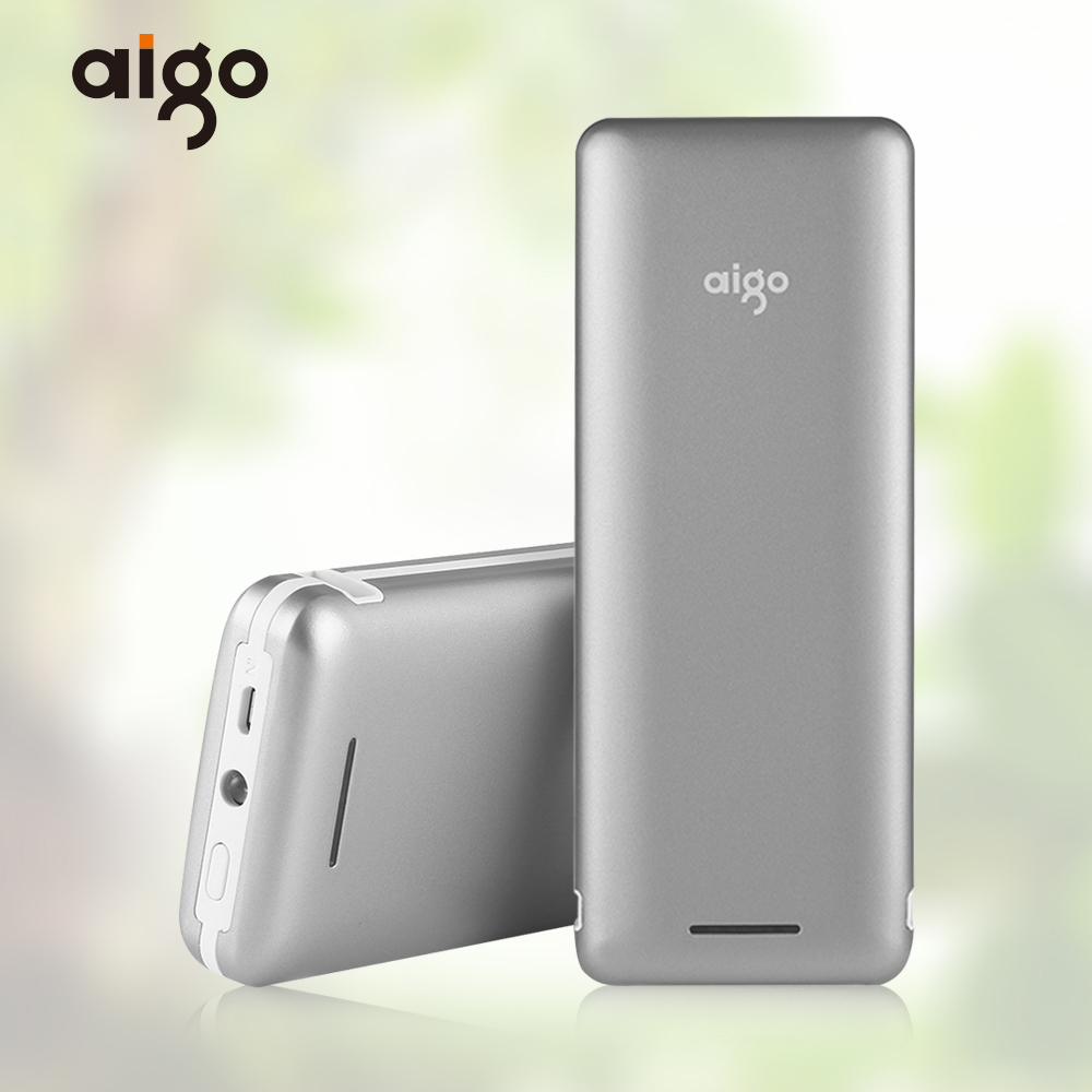 Aigo 30000mAh Power bank LED light Portable Charger External Battery Powerbank for iphone Xiaomi Fast Charger For Phones Tablet