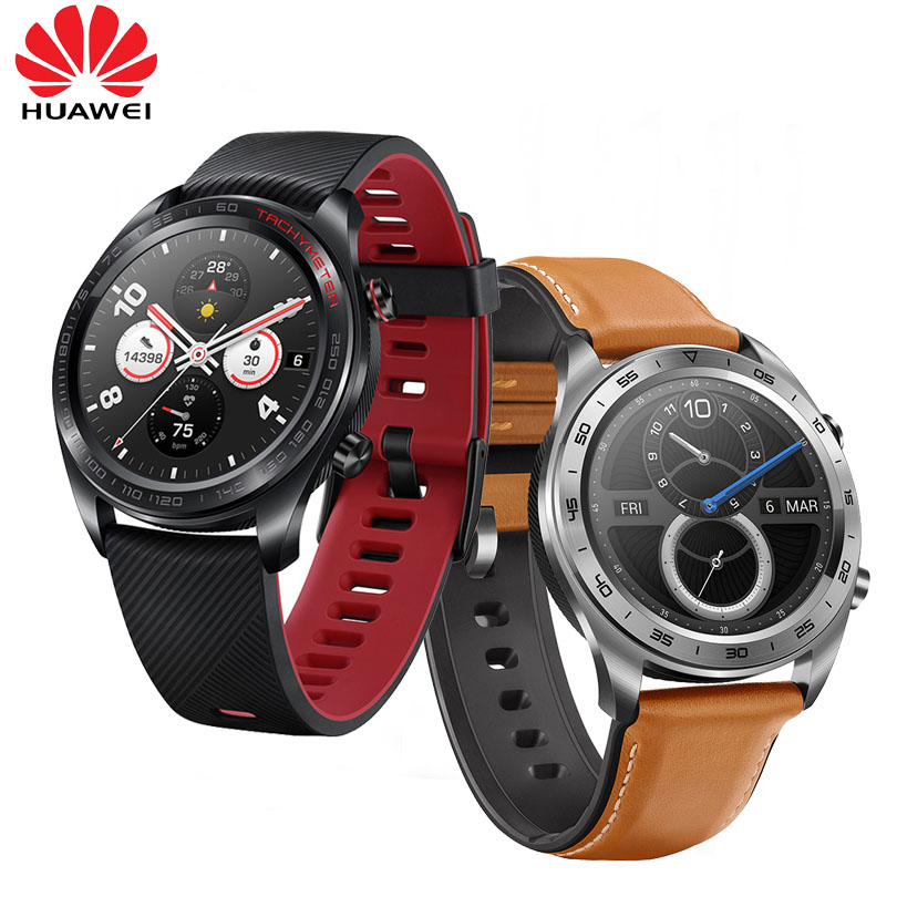 Huawei Honor Watch Magic WaterProof GPS NFC Working 7 Days Message Reminder Heart Rate Tracker Sleep