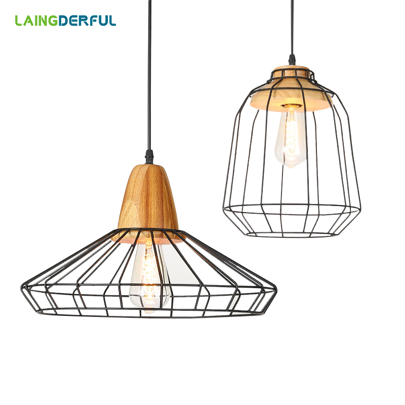 Modern Brief Pendant Lights Creative Metal Cage Plant Hanging Lamp Nordic Lamp for Bar Restaurant Parlor Study Light FixturesModern Brief Pendant Lights Creative Metal Cage Plant Hanging Lamp Nordic Lamp for Bar Restaurant Parlor Study Light Fixtures
