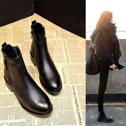 Salvaje 1 Diseñador Calidad Negro Las Nuevas Moda Mujeres Caliente Antideslizante Zapatos Mujer 2018 Marca De Botas La zvaAYqA