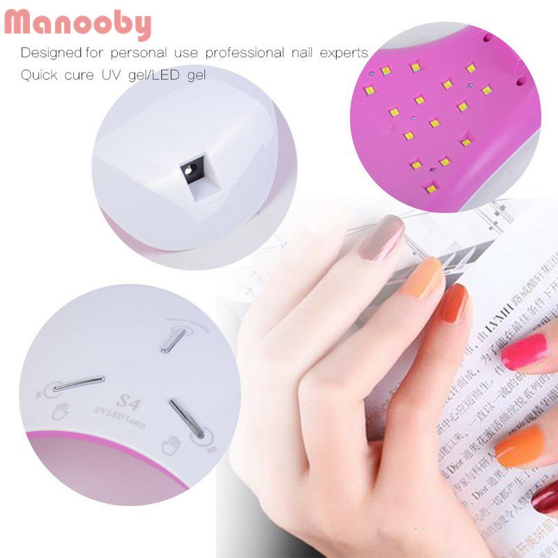 Nageltrockner Manooby Nagel Trockner Frauen Mode Nagel Lampe Für Alle Gele 36 W Intelligente Induktion Led Phototherapie Nägel Polish Kleber Backen Lampe Hohe Belastbarkeit