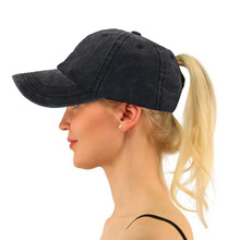 XCZJ Summer Mesh Hats Sun Protection Breathable Hat Cotton Fitted Baseball Cap Unisex Headdress Adjustable Ponytail H048