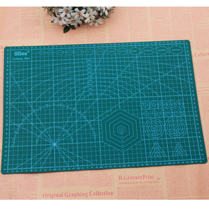 Image 2 - A3 A4 A5 PVC Cutting Mat Pad Patchwork Cut Pad A3 Patchwork Tools Manual DIY Tool Cutting Board Double sided Self healing
