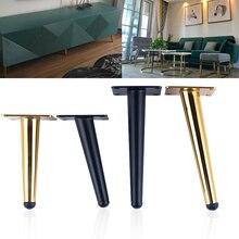4Pcs Möbel tisch beine edelstahl TV Schrank Fuß Sofa Bein Hardware Schrank füße Kegel bein Mit montage schrauben