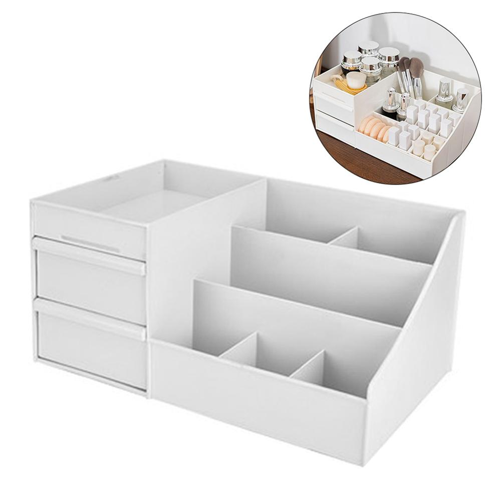 Plastic Makeup Storage Box Drawers Cosmetic Organizer Box Jewelry Container Make Up Case Office Boxes Make Up Container Boxes