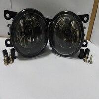 1Pair Fog Lights Front Bumper Lamps For Mitsubishi Outlander ZG Triton ML Pajero NS NT NW