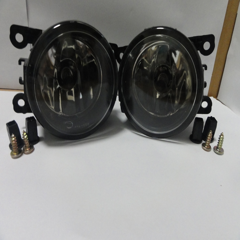 1Pair New Car Front Bumper Fog Driving Lights Lamps For Mitsubishi Outlander ZG Triton ML Pajero NS NT NW L200 new common rail injector 095000 9560 for mitsubishi 4d56 triton l200 1465a257