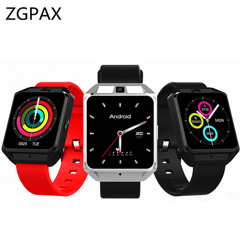 4G Smart Watch H5 MTK6737 Android 6.0 1GB+8GB SmartWatch Heart Rate Monitor WCDMA WiFi GPS 1.54 touch Display watch For gift 4g gps android 6 0 smart watch m5 mtk6737 heart rate monitor support sim card camera business smartwatch for men women 2018 gift