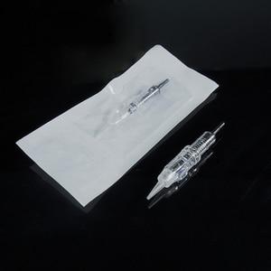 Image 4 - Needles Easy Click needle 3RL Disposable Cartridge eyebrow needle cartridge Permanent Tattoo Makeup Eyebrow Lip Round Liner