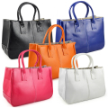 Ladies Class PU Leather Satchels Tote Purse Bag Handbag
