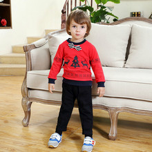 Boutique Kids Clothing Lot new year costumes for kids toddler boy christmas Outfit Sets Winter 2018 Casual Children Clothing