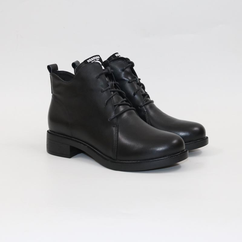 Poney en cuir bottes-in Bottines from Chaussures    1