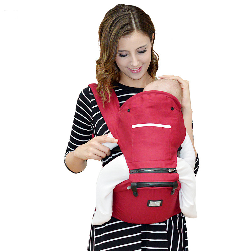 Baby Carrier Hip Seat Cotton Infant Backpack for 3-48 Months Babies Kids Shoulders Carry Baby Sling newborn babies baskets cand load 0 10kg children 0 12 months kids travelling use bassinet easy to carry