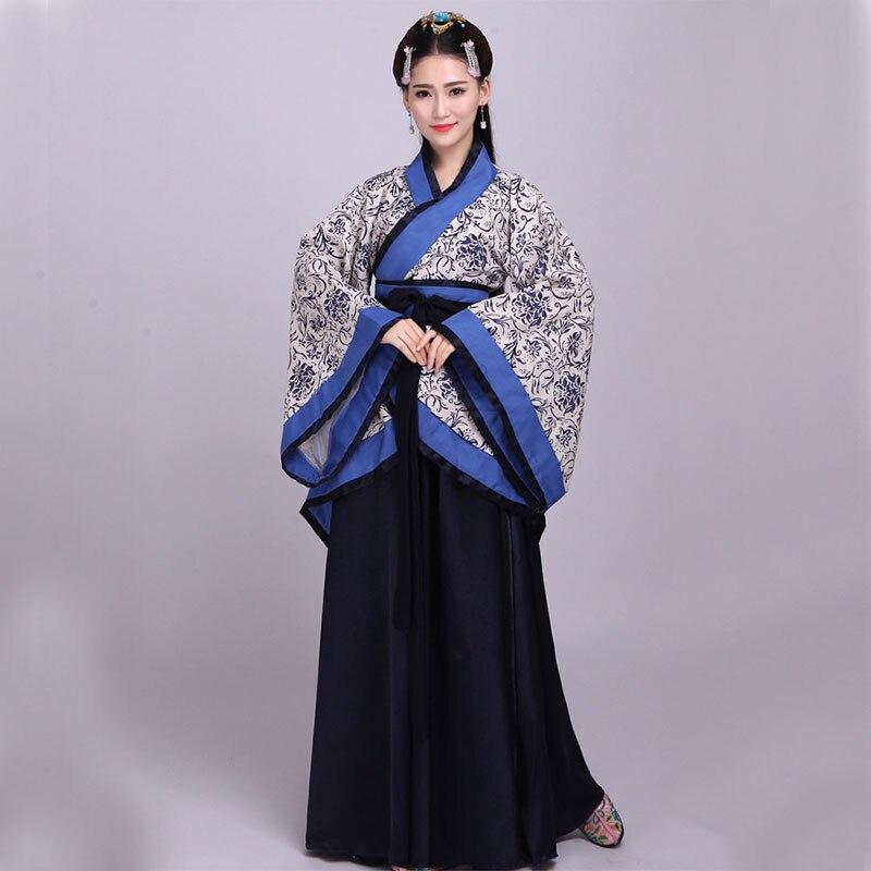 DJGRSTER ancien Costume chinois femmes danse folklorique Qing dynastie Tradition porter des Costumes pour déguisements Hanfu Performance vêtements