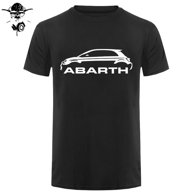 Men T Shirt Fiat 500 Abarth...