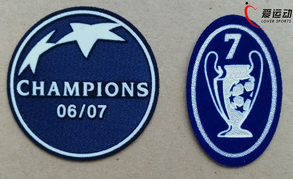 0708 MILAN champions league patch set 2006 2007 AC Milan Champions League  Winner Sleeve Soccer Patch+ blue Trophy 7 patch-in Patches from Home    Garden on ... a2db9db2e
