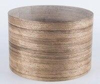 Length 2 5Meters Roll Thickness 0 25 0 3mm Width 15cm Natural Ebony Wood Veneer Furniture