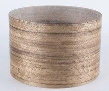 Купить с кэшбэком Length: 2.5Meters/Roll  Thickness:0.25-0.3mm  Width:15cm  Natural Ebony Wood Veneer Furniture Veneer(with Nonwoven fabric)