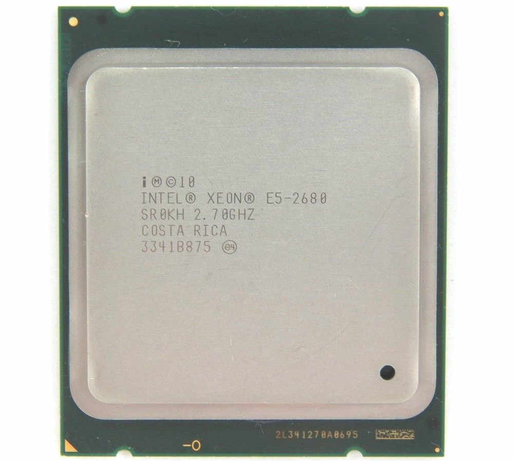 Intel Xeon E5 2680 Processor 2.7GHz 20M Cache 8 GT/s LGA 2011 SROKH C2 E5-2680 CPU 100% normal work