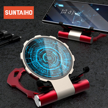 Suntaiho 10W Qi Wireless Charger for iPhone X XS XR 8 7 Plus Non-slip Fast Wireless Charging for Samsung S8 S9 S10 Xiaomi mi 9