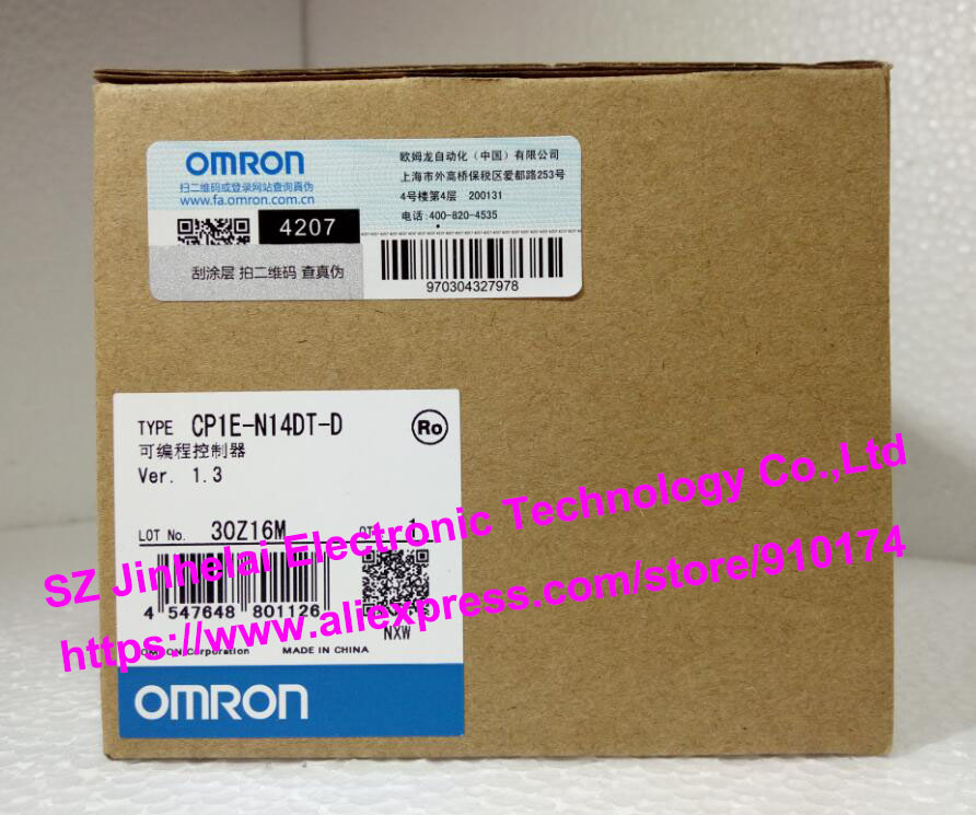 New and original CP1E-N14DT-D  OMRON  PLC controller cp1e n40dr d new and original omron plc controller