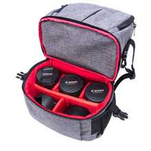 цены на New Outdoor Wear-resisting Water-resistant DSLR Digital Camera Bag Backpack Multi-functional Breathable Photography Camera Bags  в интернет-магазинах