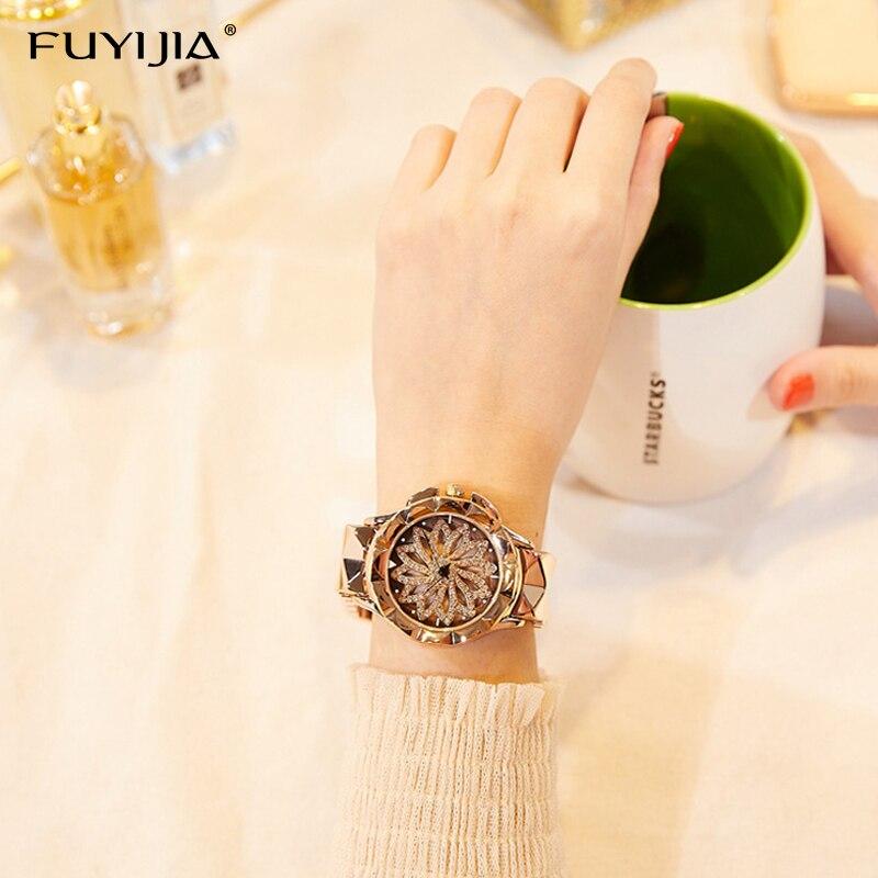 Lady zegarki damskie zegarki kwarcowe panie oglądać kobiet zegar - Zegarki damskie - Zdjęcie 4