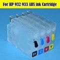 Mais novo cartucho de tinta recarregáveis para hp932 933 uso para hp officejet 6100 6700 7610 7110 7120 impressora