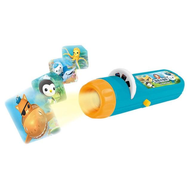 Baby Sleeping Story Submarine Projector Flashlight Star Lamp Child Light Up  Toy Sleep Light Projection