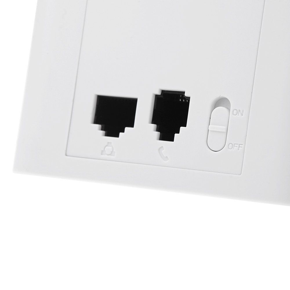 YOC 300Mbps 2 4GHz In wall Wireless AP Router for Hotel Room Support 48V  PoE VLAN-in Wireless Routers from Computer & Office