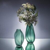 Diamond Star Color Creative Glass Vase Modern Simple Hydroponic Flower Home Decoration Crafts Geometric Vase