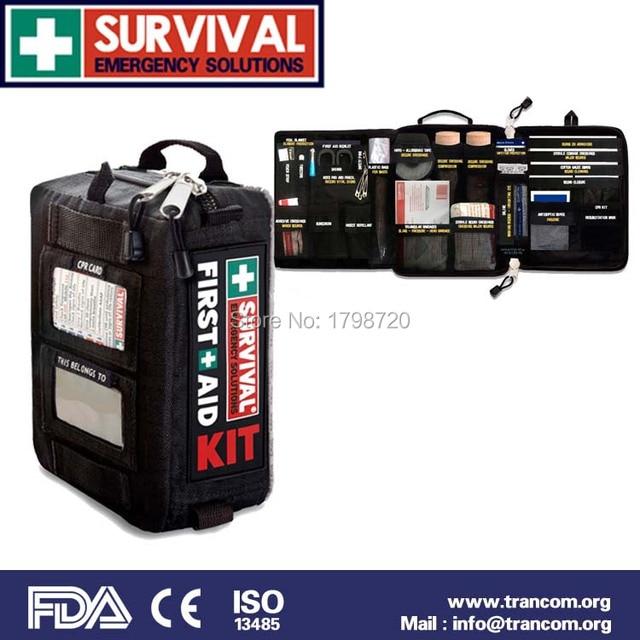 TR002 Высокое Качество Открытый Путешествия Аптечка аптечка для автомобиля с аптечка первой помощи содержание (CE и ISO и FDA и TGA) Утвержден