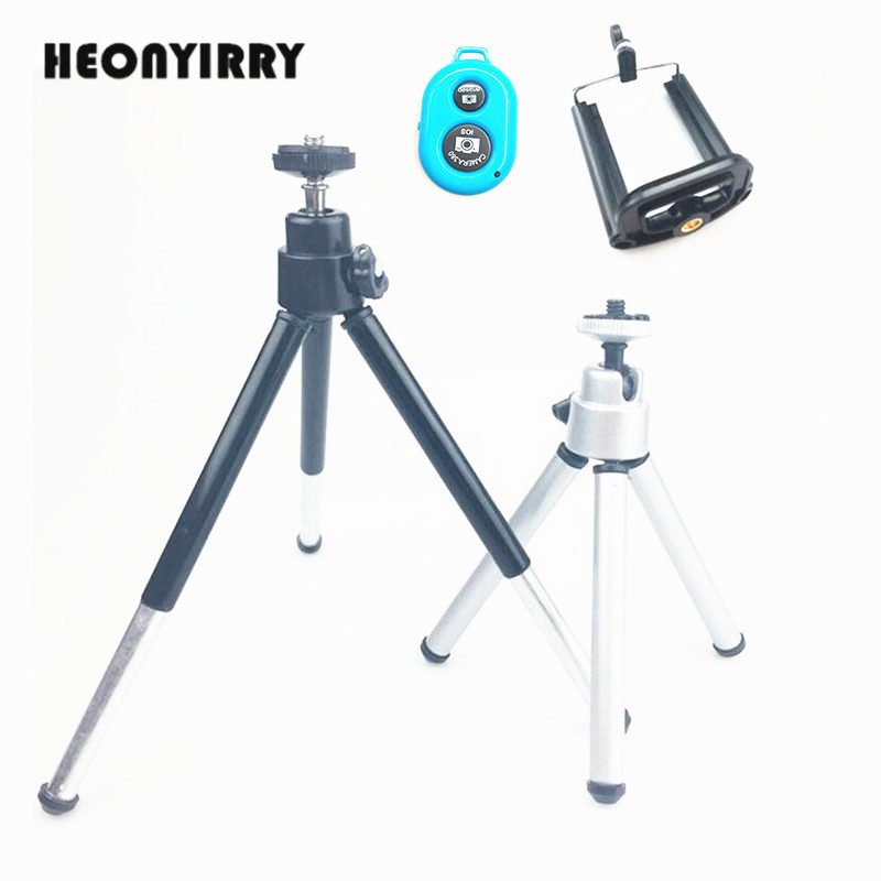 Flexible Mini Tripod for Phone Lightweight Aluminum Metal Tripods Stand Mount with Phone Clip Tripods for Xiaomi iPhone 5s/6/6s7 стоимость