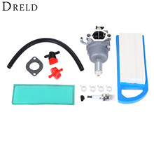 DRELD Chainsaws Carburetor Air Filter Tune up Kit for BRIGGS & STRATTON 594601 796587 591736 Trimmers Cutter Carb Garden Tools
