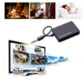 Receptor de Música de Áudio sem fio Bluetooth A2DP Estéreo de 3.5mm de Áudio Remetente Transmissor Dongle Adaptador de Cabo para TV Mp3 PC Speaker