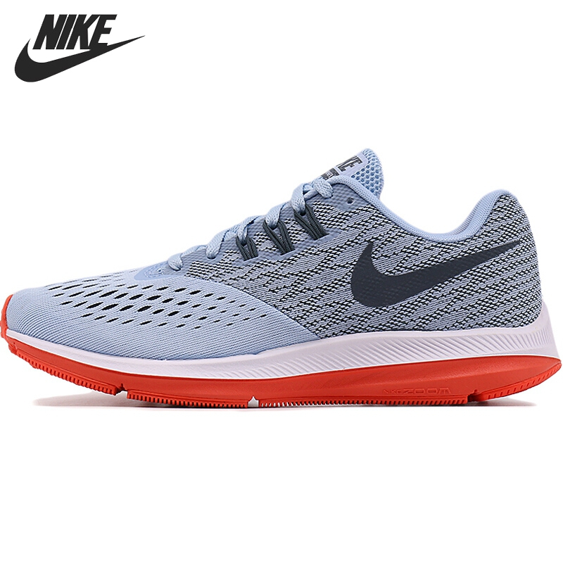 Original New Arrival 2017 NIKE  ZOOM WINFLO 4 Womens  Running Shoes Sneakers