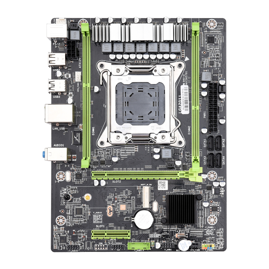 Kllisre X79 M2 motherboard LGA2011 ATX USB2.0 SATA3 PCI-E NVME M.2 SSD support REG ECC memory and Xeon E5 processor(China)