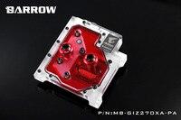 Курган MB GIZ270XA PA LRC RGB v1 полное покрытие Процессор водяного охлаждения блока для Gigabyte aorus GA Z270X Gaming