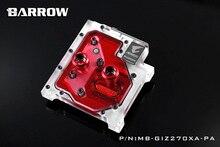Barrow LRC RGB v1 Full Cover CPU Water Cooling Block MB GIZ270XA PA for Gigabyte Aorus