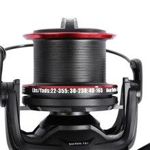 11 + 2 Ball Bearings Metal Spool Spinning Fishing Reel 4.6:1 with YF8000 + YF9000 Carp Bass Sea Fishing Reel Fishing Tackle