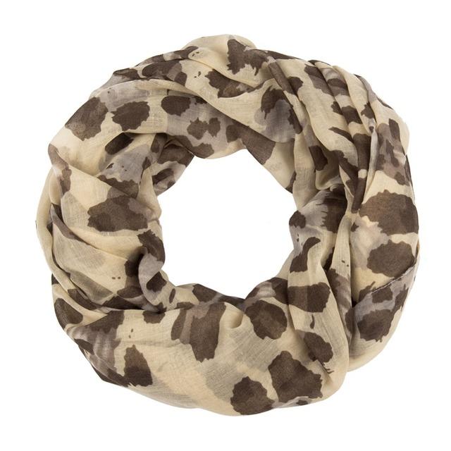 Colorful Leopard Loop Scarves | Infinity Scarves