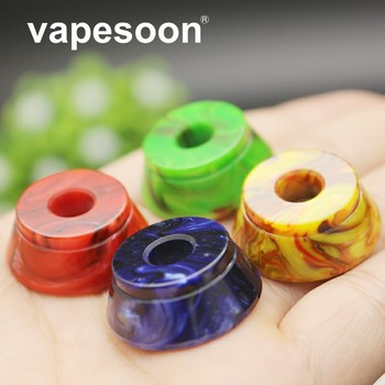 Colorful Resin display Base For e Cigarette Vape 510 Atomizer RDA TFV8 Big Baby / RBA 528 RDTA Melo 3 Mini Nano TFV4 Tank image
