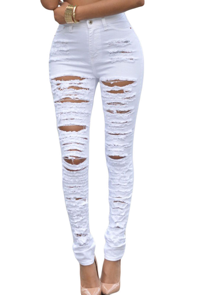 Popular Cheap Ripped Skinny Jeans-Buy Cheap Cheap Ripped Skinny ...