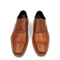 Акция; Мужская обувь из натуральной кожи; ручная работа; модельные свадебные туфли; экспресс доставка