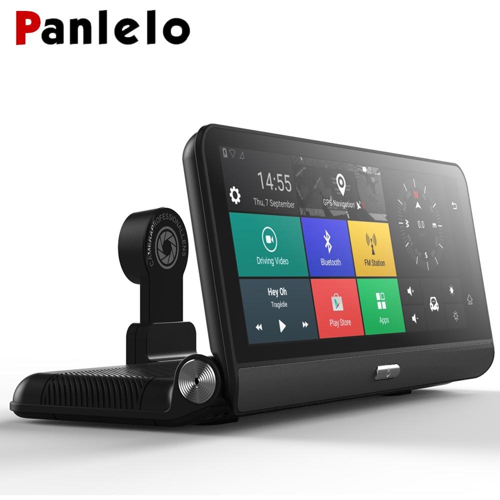 Panlelo Auto GPS 1280*400 polegada 3 8G 4G Android GPS Do Carro Navegação Android 5.0 com Câmera com Telefone Celular Bluetooth para Yoyota