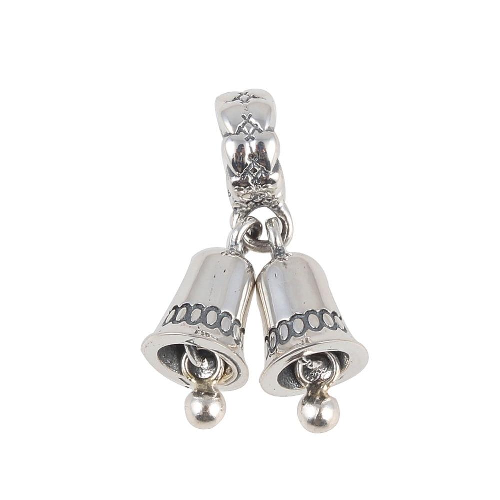 charm pandora campana con perla